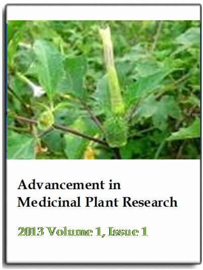 thesis on antibacterial properties of medicinal plants